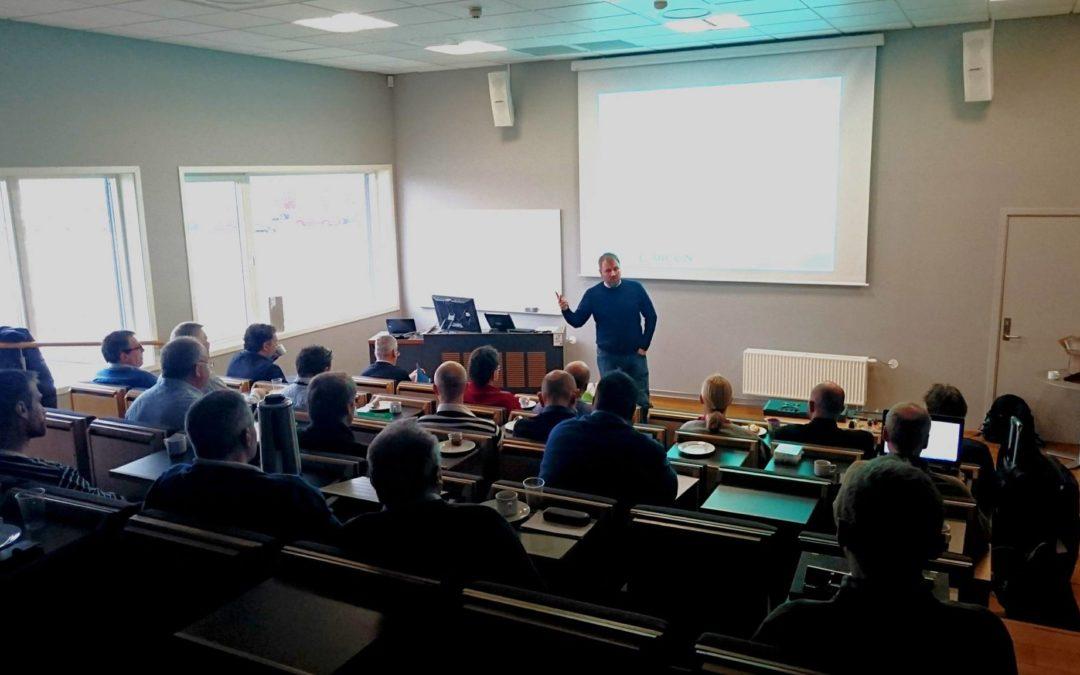 Team Kretskort Seminar – Miniatyrisering og dokumentasjon – 03.12.2019
